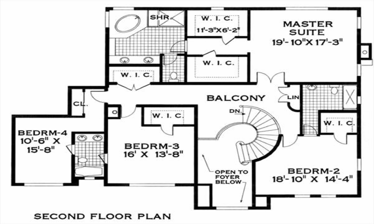 Spanish colonial house plans one level spanish colonial for Colonial home floor plans
