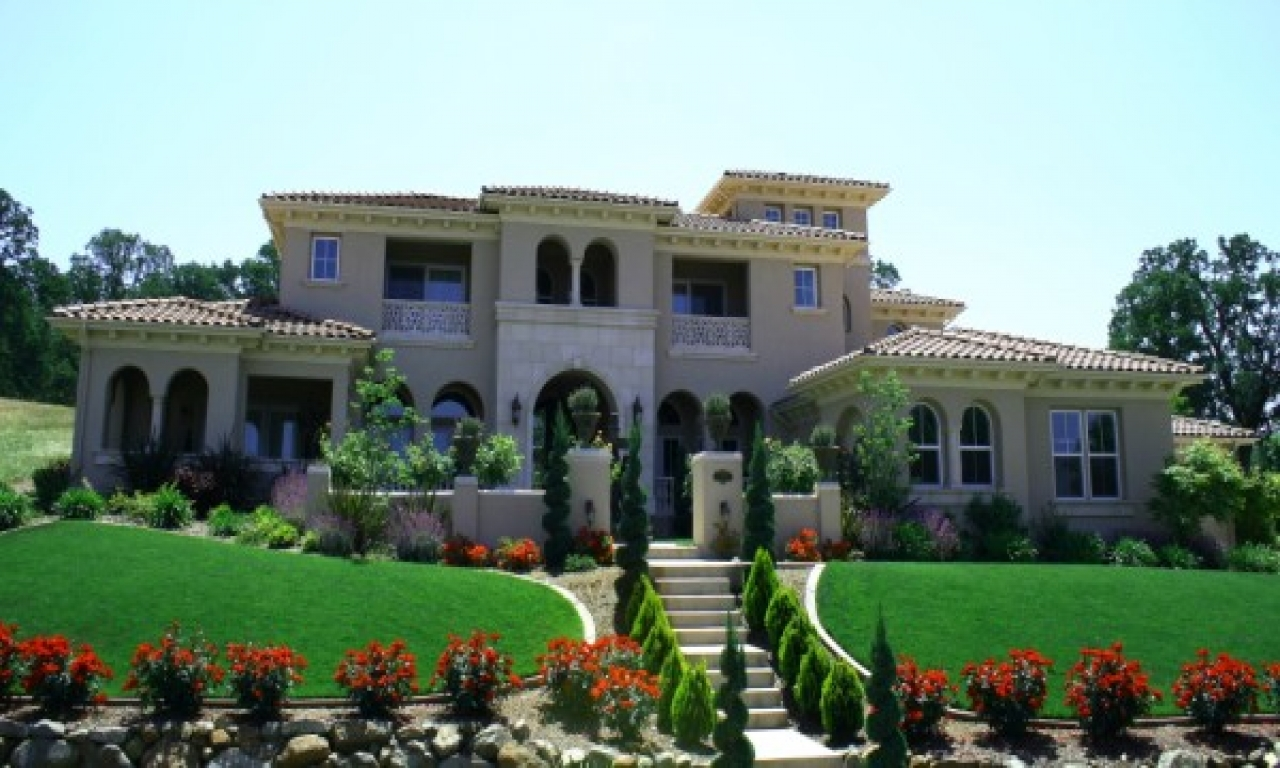 Italian villas house plans house plans home designs for Luxury mediterranean home plans