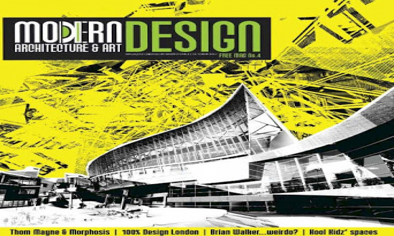 Modern architecture books arch loader modern design for Free architectural magazines