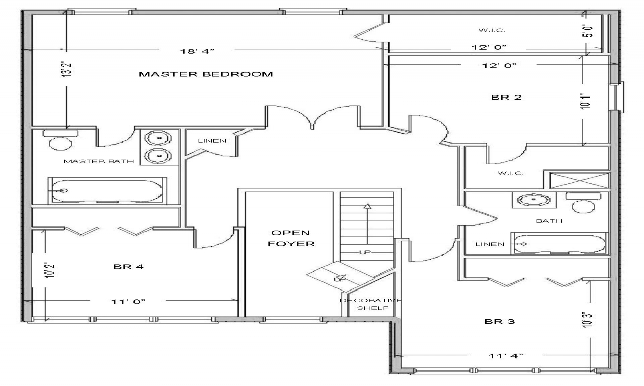 Simple small house floor plans free house floor plan for Small cabin building plans free