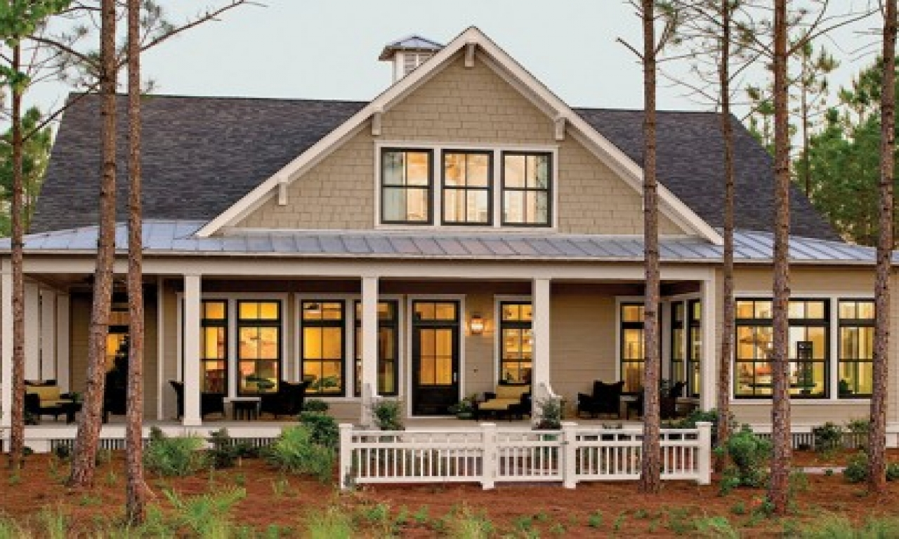 Small southern living house plans hom furniture southern for House plans with guest houses southern living