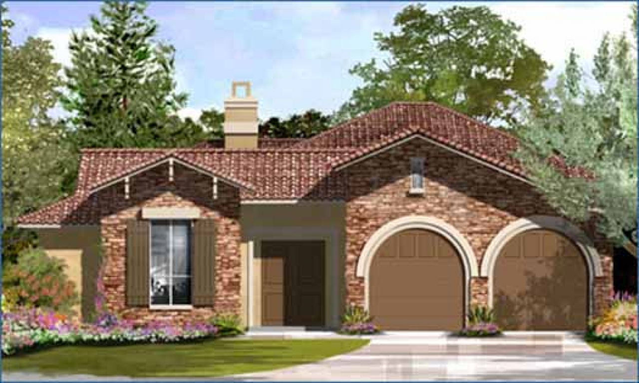 Mediterranean style homes spanish style homes house plans for Spanish style homes