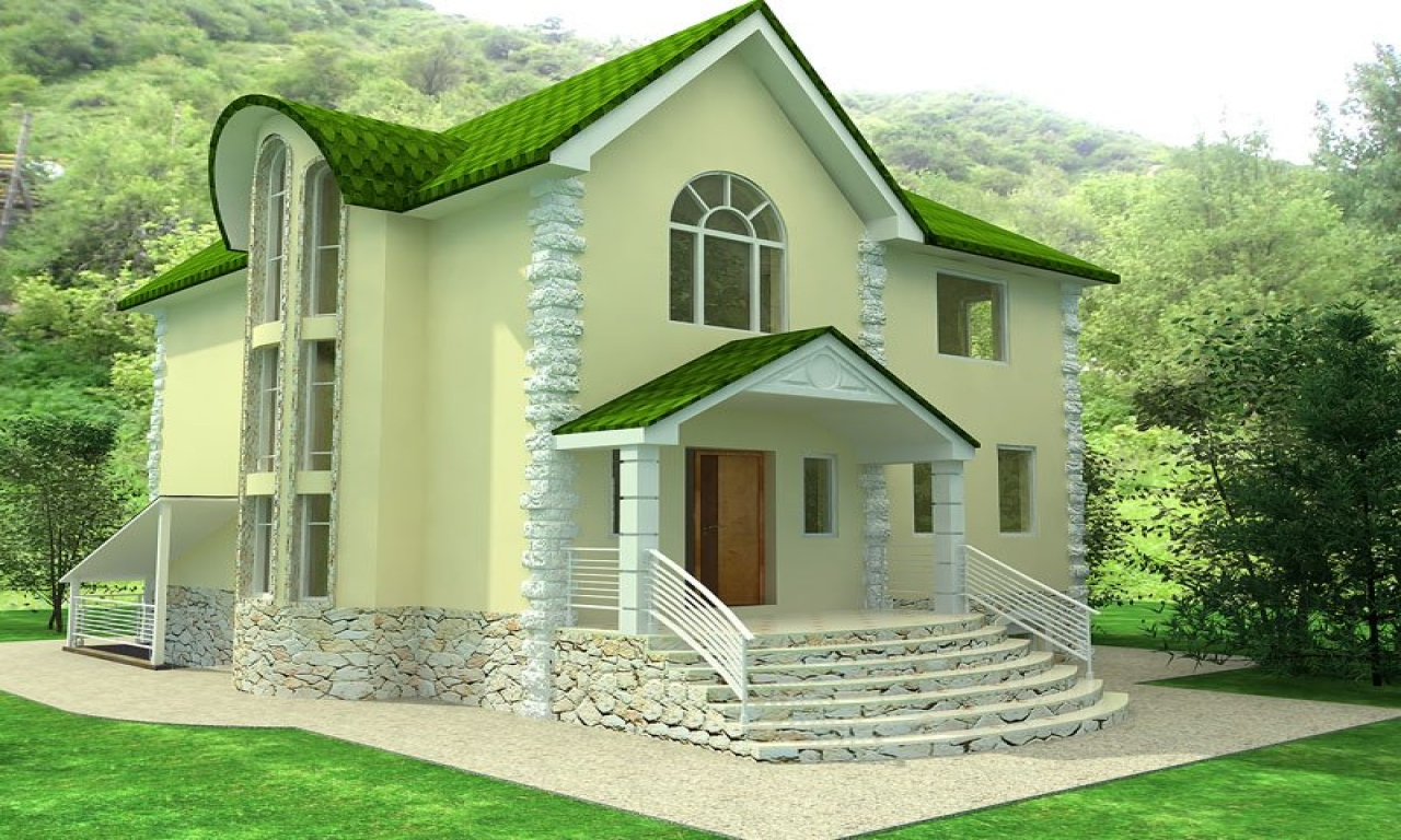 Beautiful small house design beautiful small house for House plans with inside photos