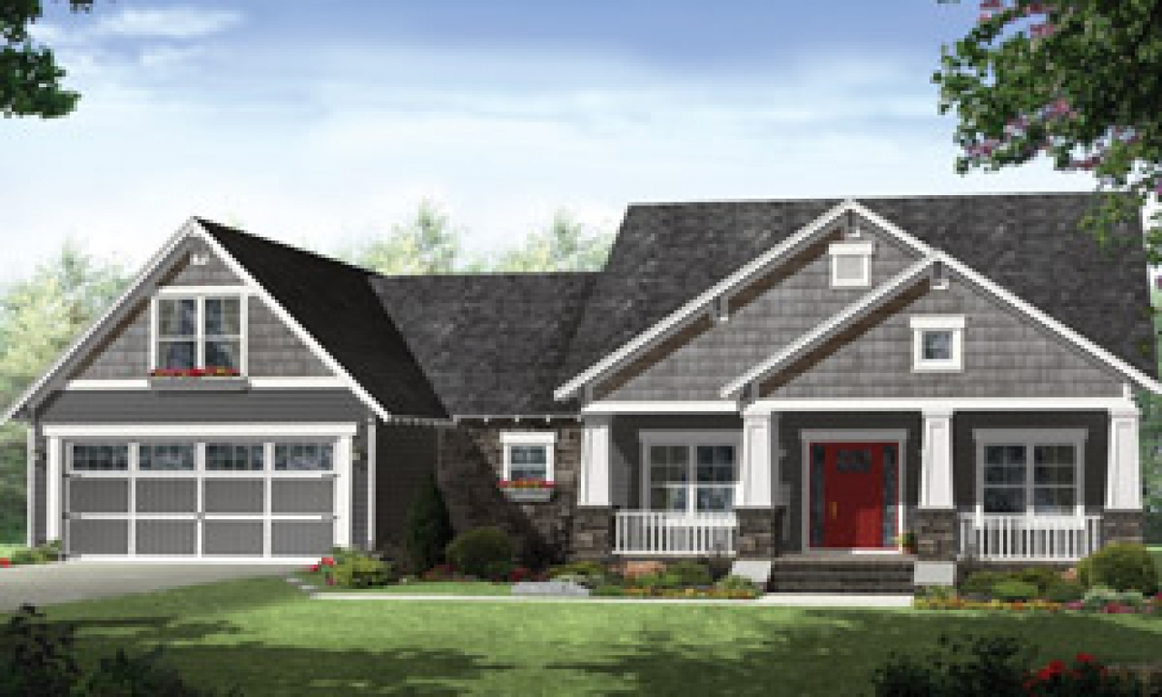 One Story House Plans Simple One Story Floor Plans House
