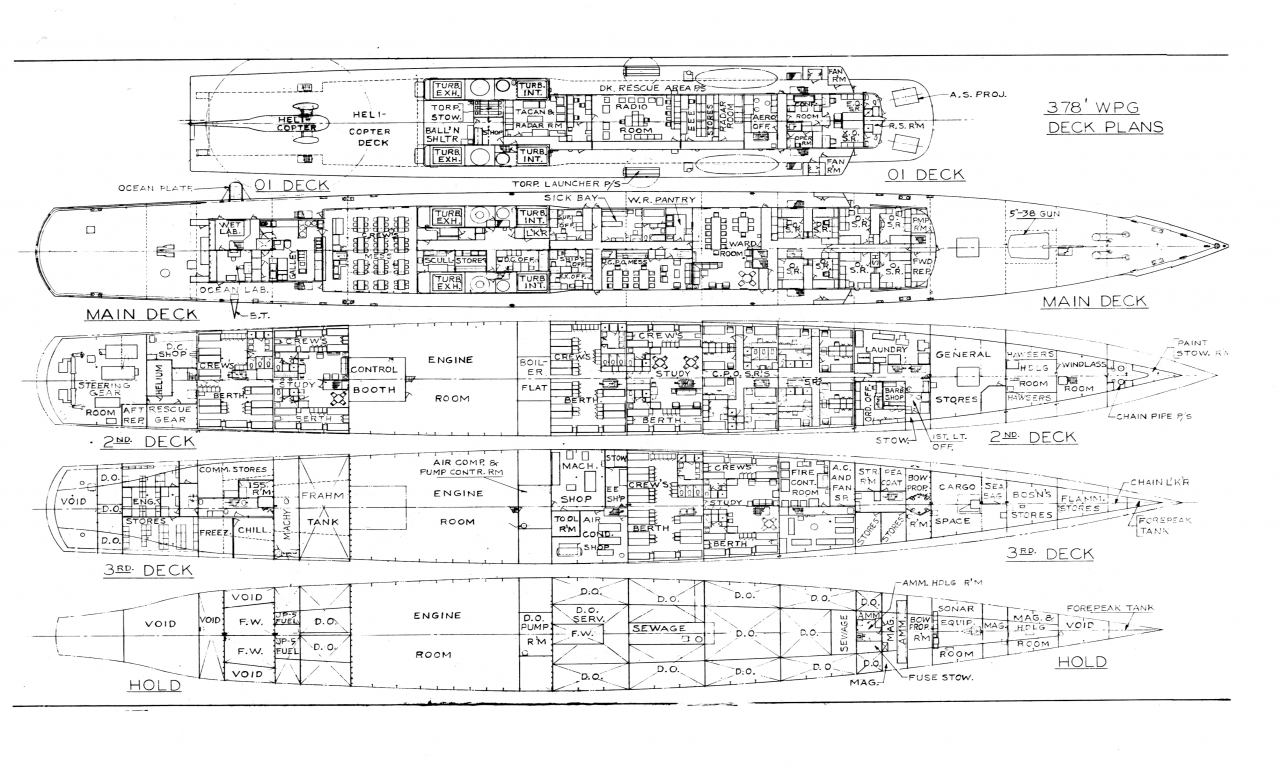 Warship Deck Plans Sci Fi Warships Plans