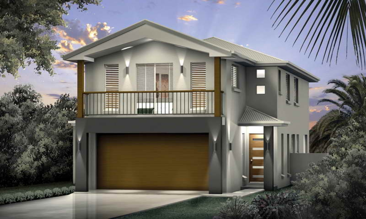 Narrow lot house plans narrow lot beach house plans beach for Narrow home plans