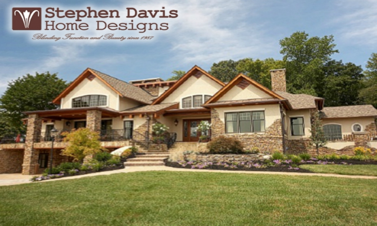 Stephen davis arrested stephen davis home designs for Custom lake house plans