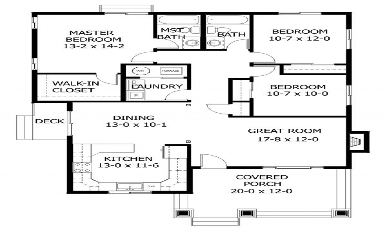 Chicago bungalow house plans chicago bungalow with front for Chicago style bungalow floor plans