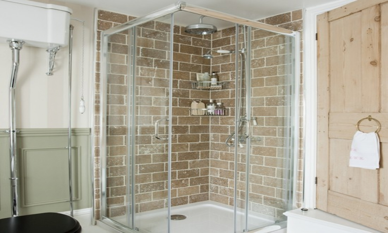 Glass Tile Bathroom Bathroom Shower Tile Brick Period Home Designs