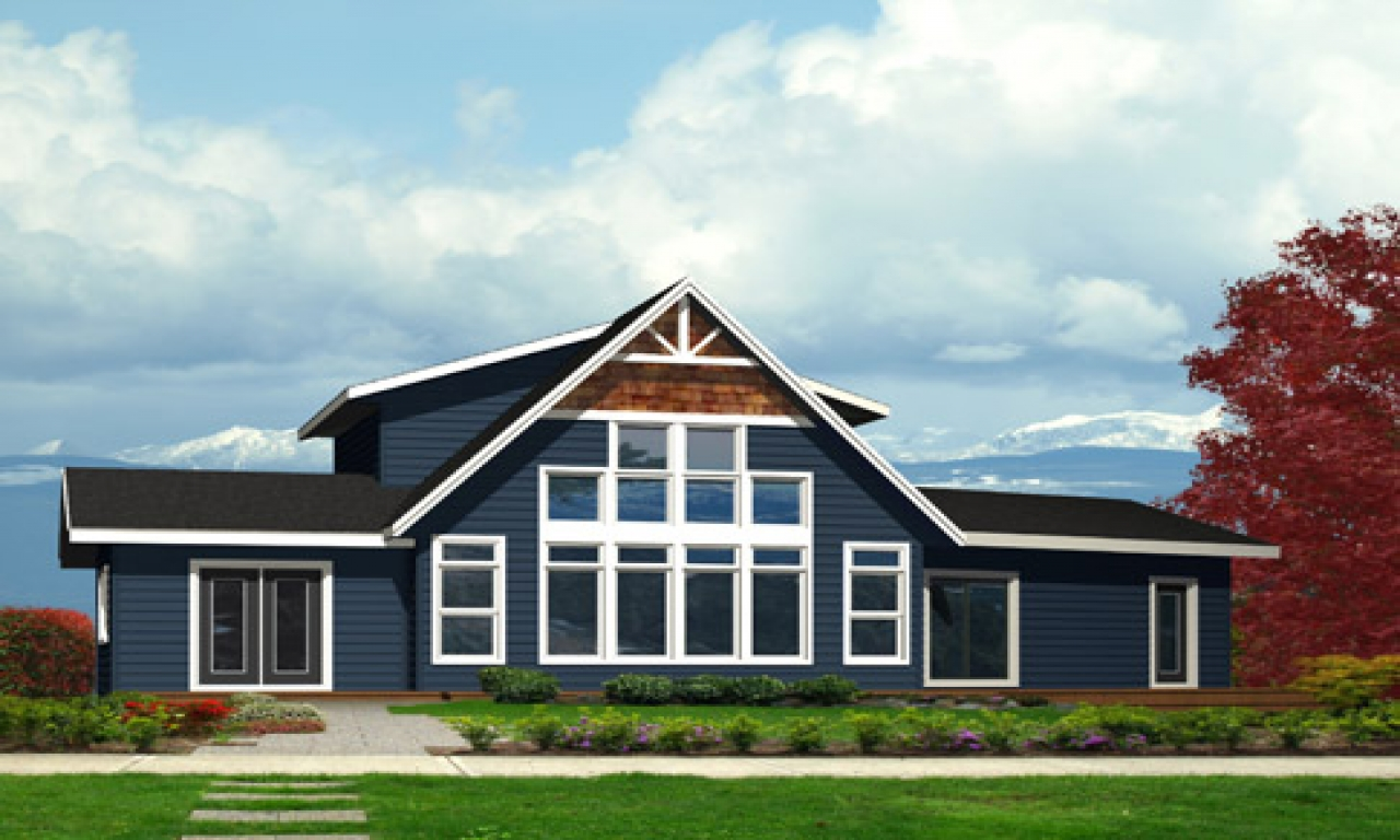 Luxury House Plans Big House Plans With Front Window