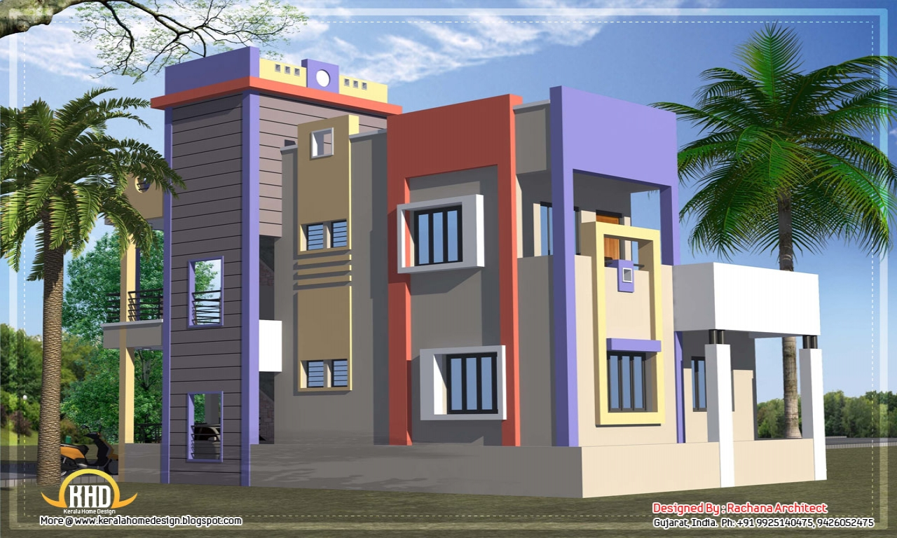 House plans 6 bedrooms designs house plans designs india for Home designs 6 bedrooms