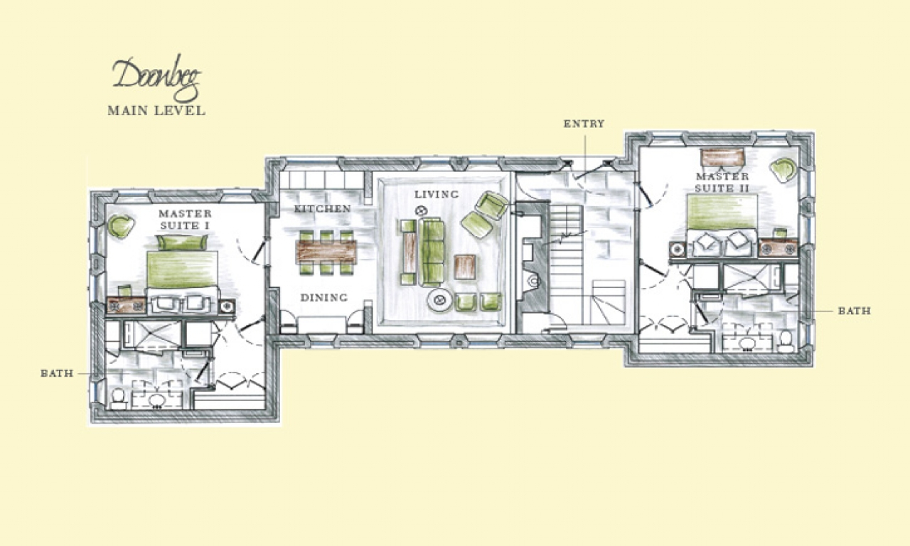 Elegant country club logos boasting an elegant country for 4 bed bungalow plans ireland