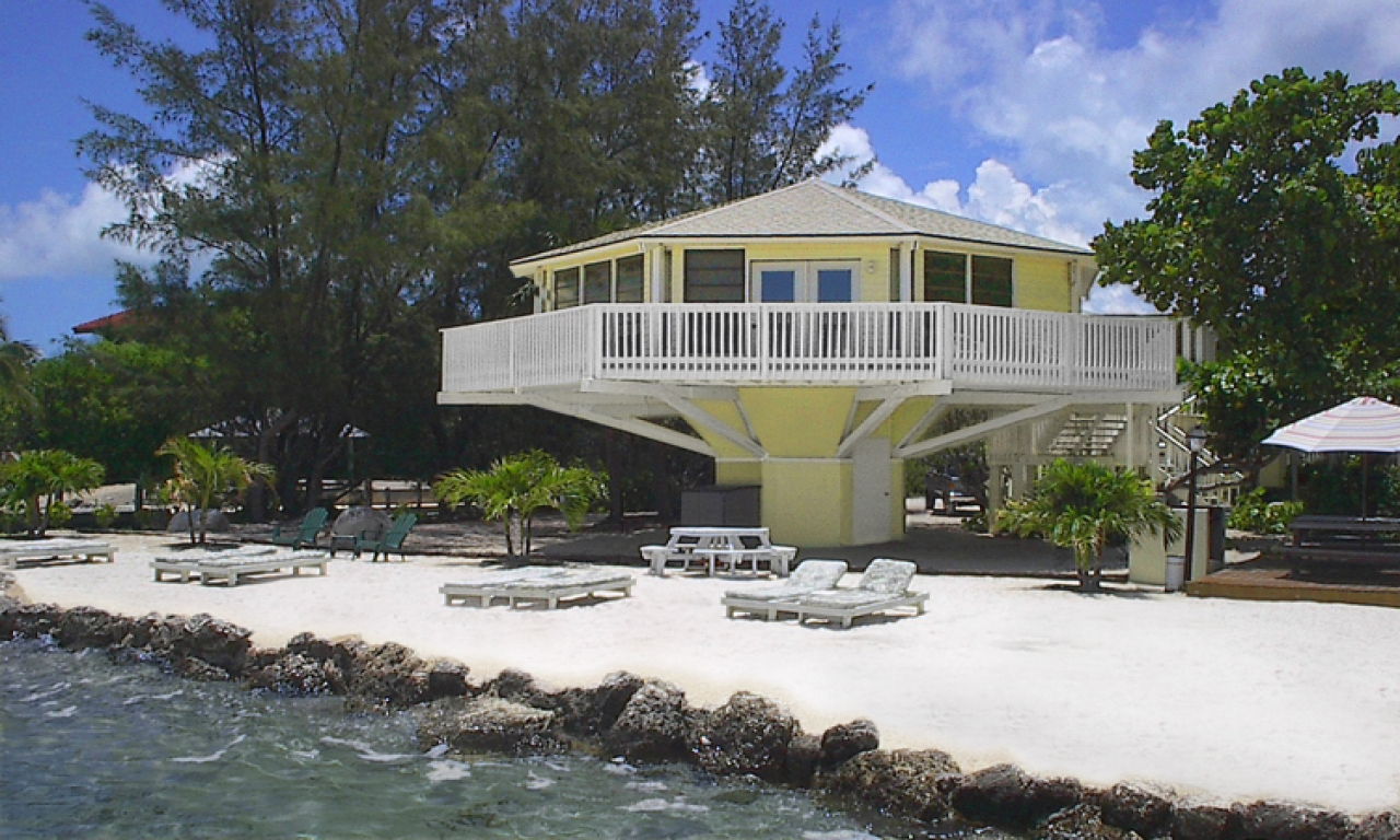 Florida modular home on stilts florida keys stilt houses for Stilt house foundation
