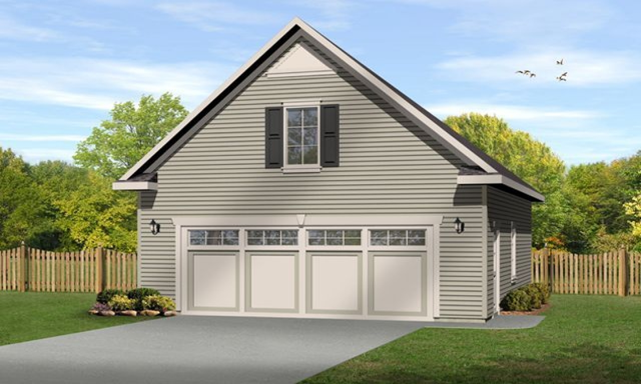 Small garage plans with loft garage plans with loft log for 3 car garage with loft