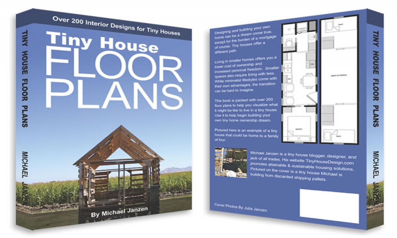 Tumbleweed tiny house floor plans tiny house floor plans for House floor plan books
