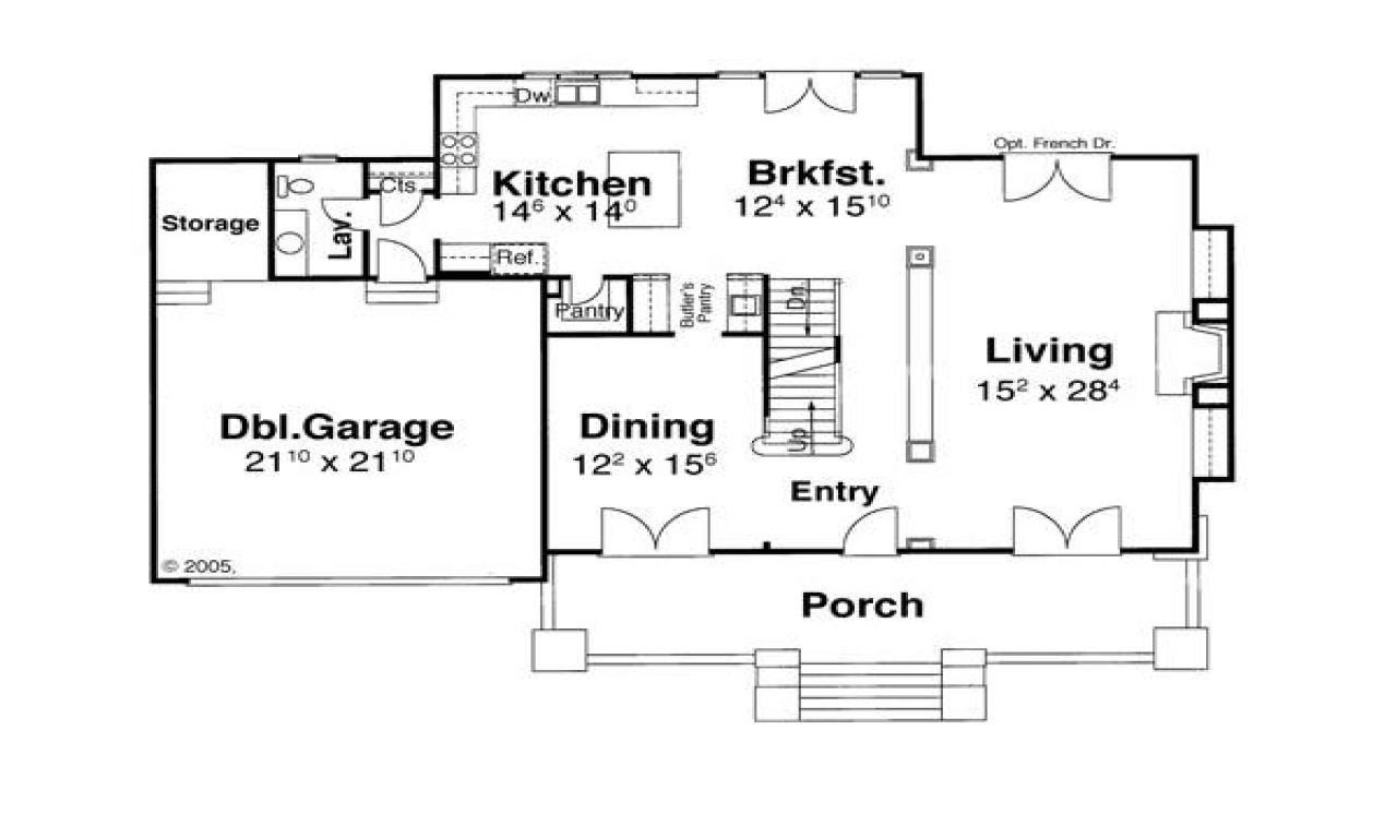 Hampton style home designs floor plan hampton style for Hampton style beach house plans