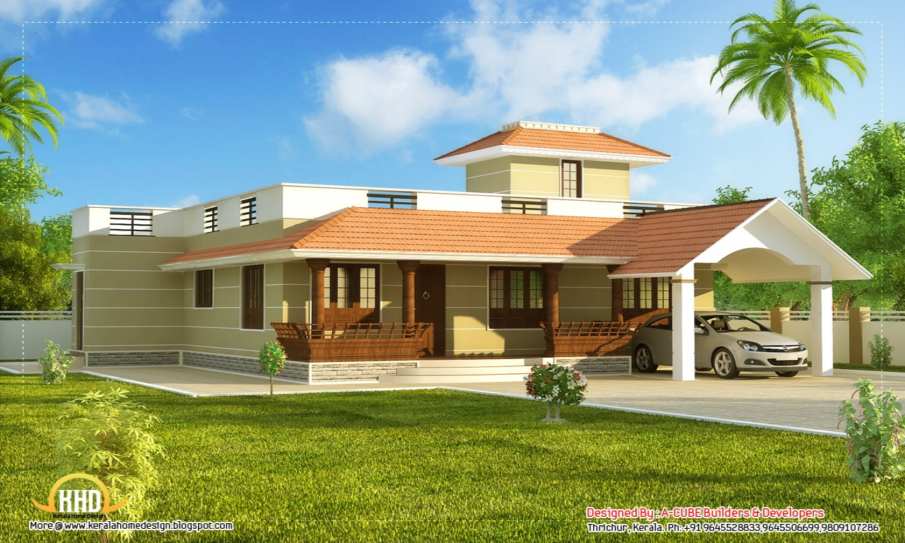 Model beautiful design house 2015 beautiful model house for Home designs 2015