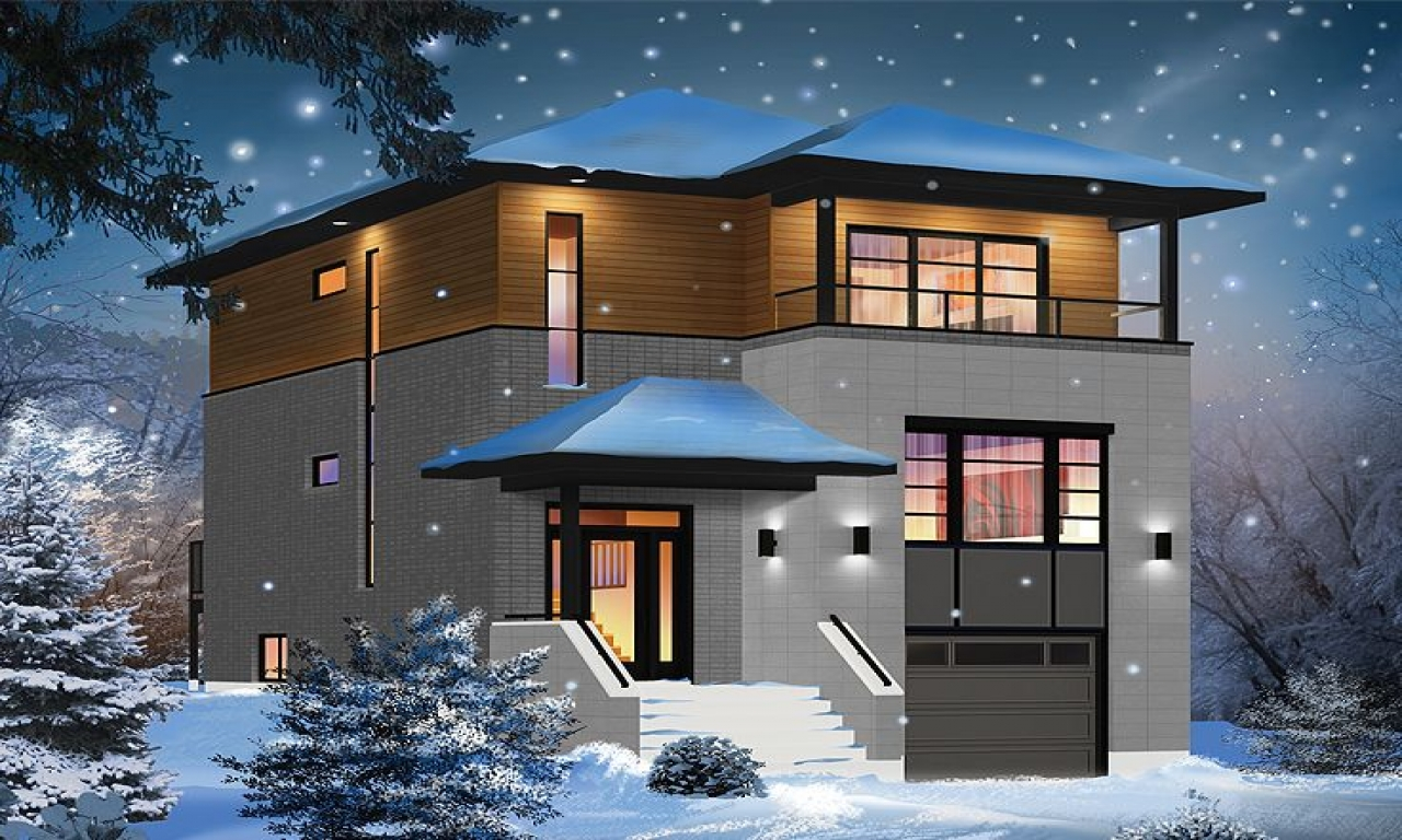 Modern 2 Story Contemporary House Plans Nice 2 Story House