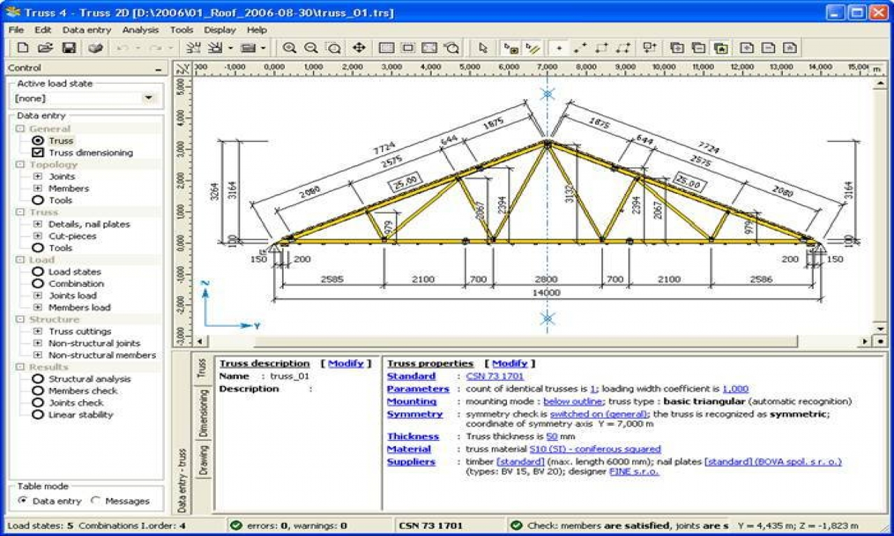 Roof Truss Design Software Steel Roof Truss Design