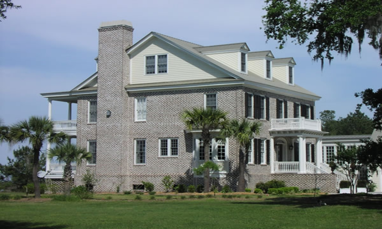 Southern colonial house plans traditional colonial house for Traditional southern house plans