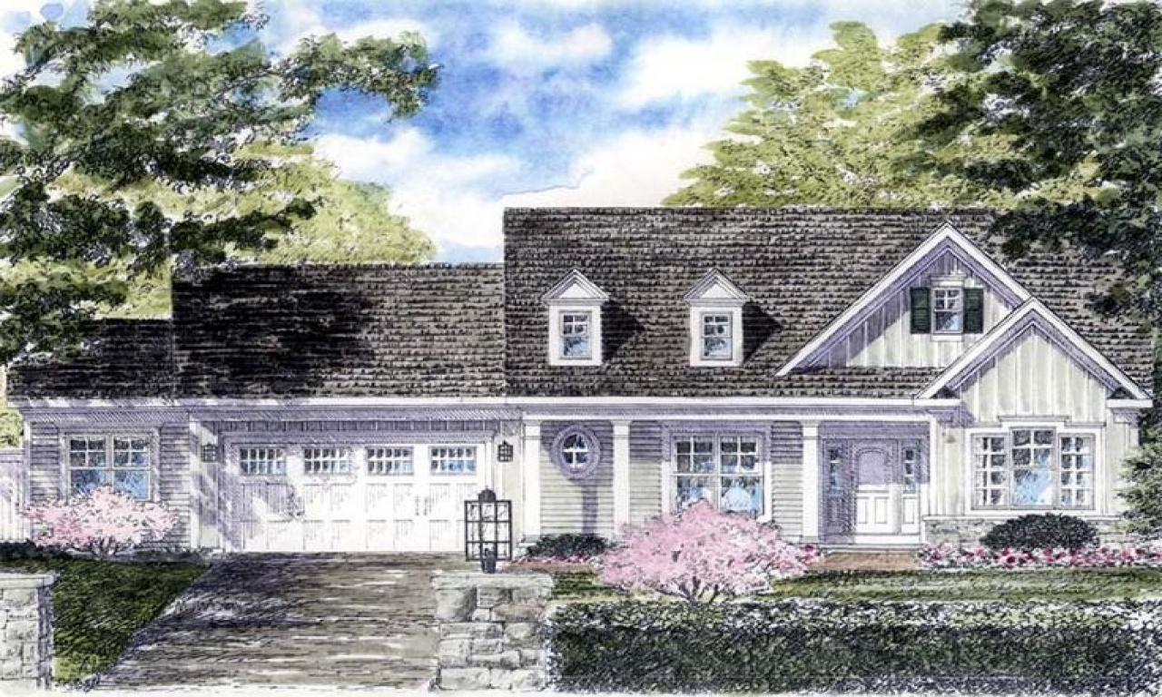 Cape cod style homes design cape cod cottage house plans for Cape cod cottage plans