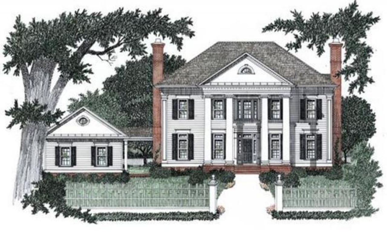 Small house plans colonial style house plans colonial style homes house plans colonial style - Small chic house plans ...