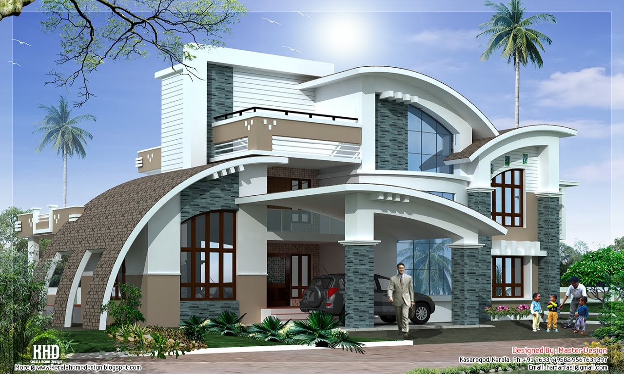 Luxury modern house design modern luxury house plans for Modern luxury villa design