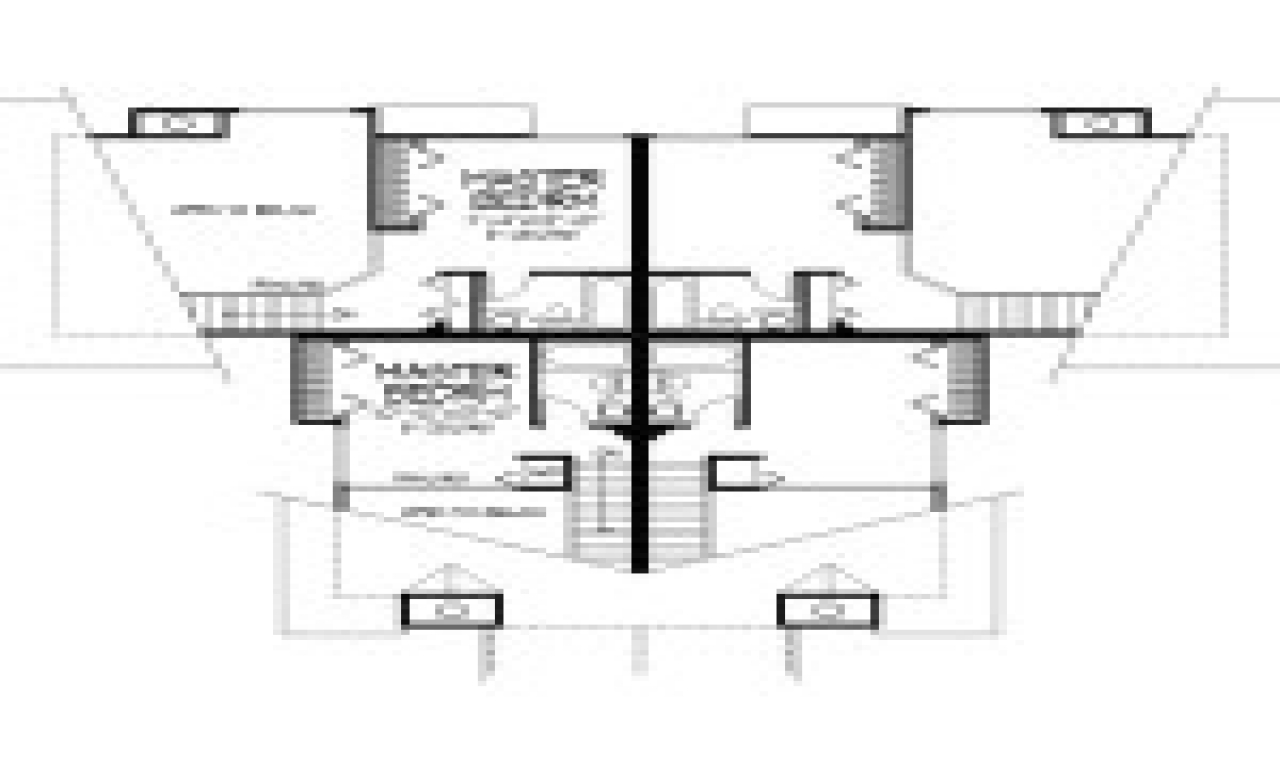 Modern multi family house plans home designs modern multi for Multi family house plans