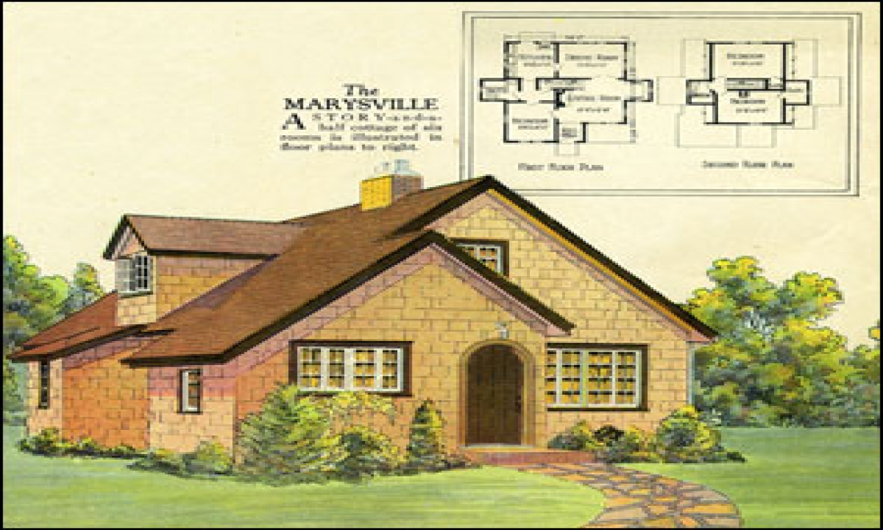 Tiny Romantic Cottage House Plan Old Cottage House Plans