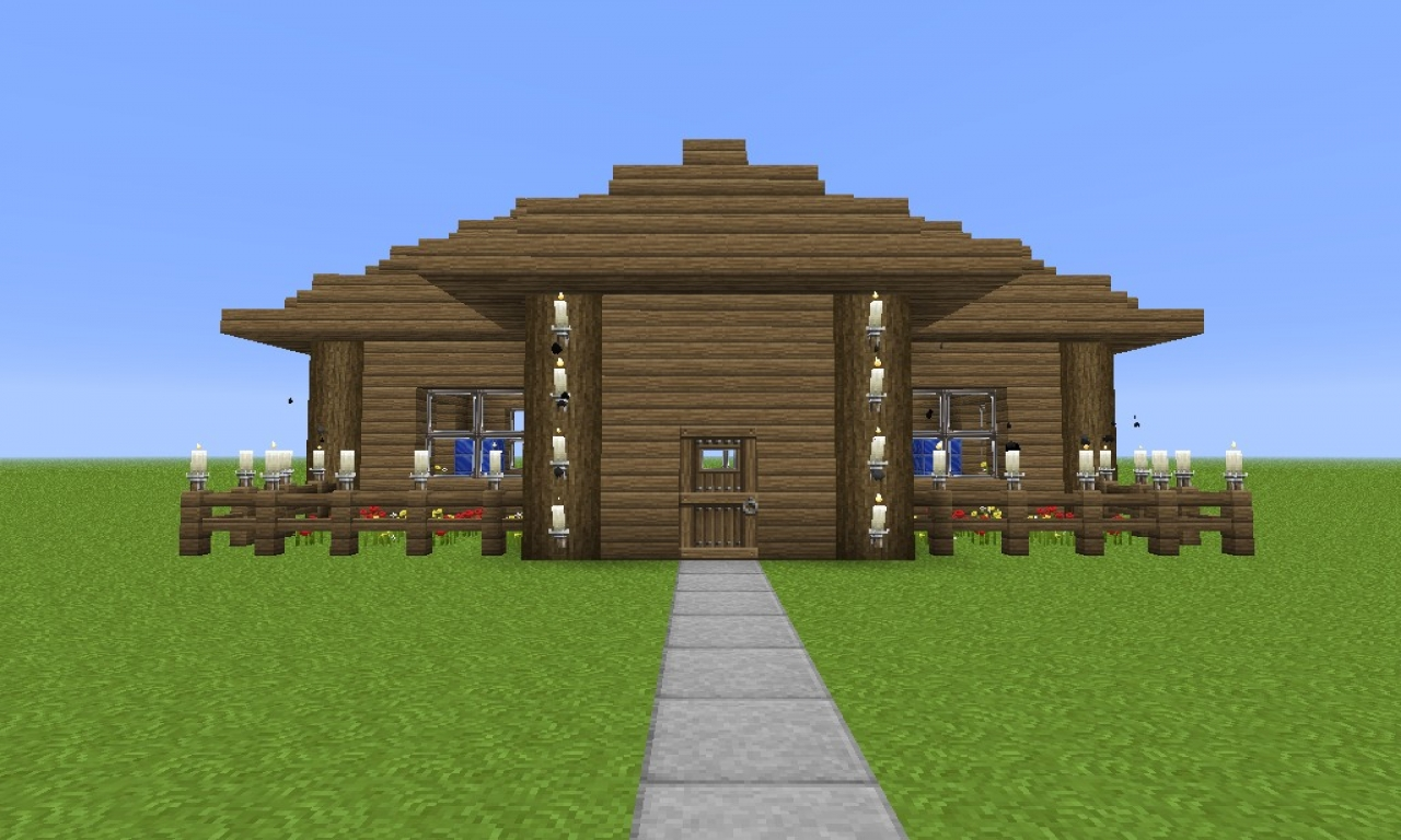 Easy Simple Minecraft Houses Best Minecraft House Blueprints  Nice Small House