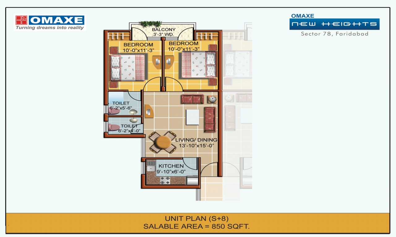 850 Sq Ft Apartment Floor Plan 700 Sq Ft Apartment 850 Sq