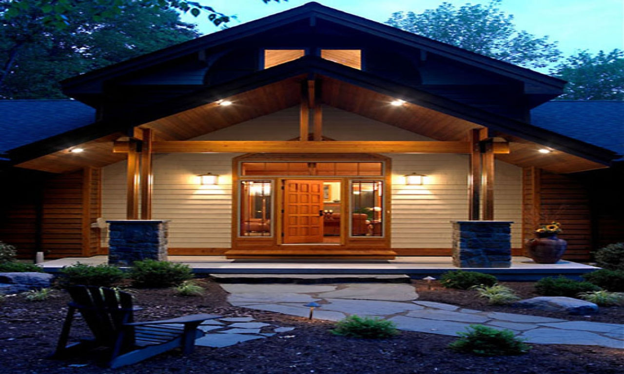 Modern Craftsman Style House Plans Contemporary Craftsman