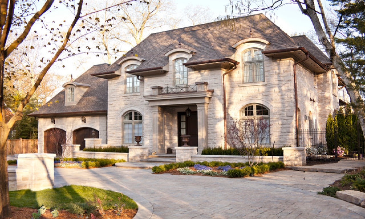 French Exterior: French Country Exteriors French Chateau Exterior Design