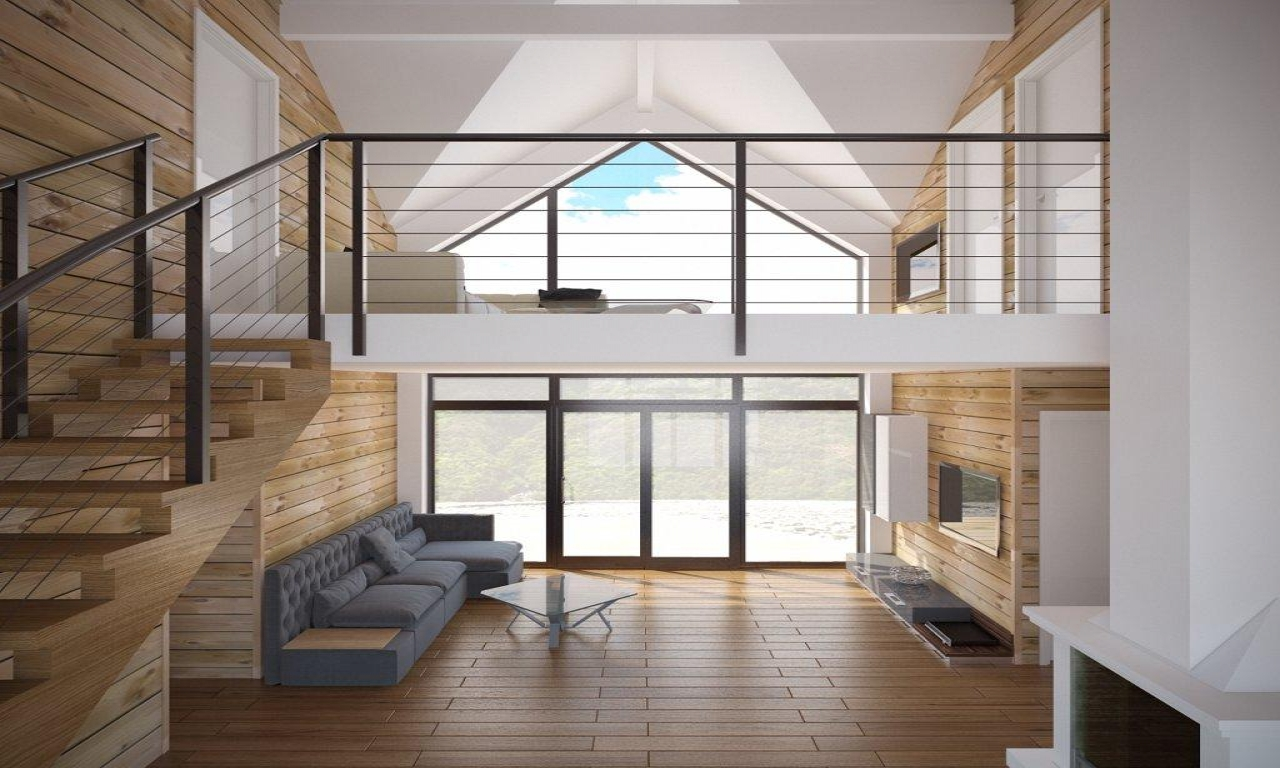 Affordable Home Modern Small House Plans One Story Cottage ...