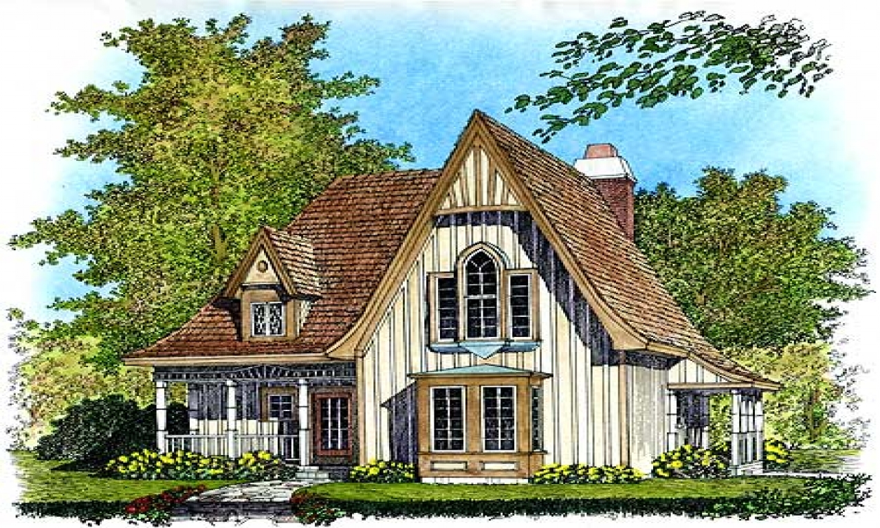 Small Gothic Cottage House Plans Carpenter Gothic Cottages