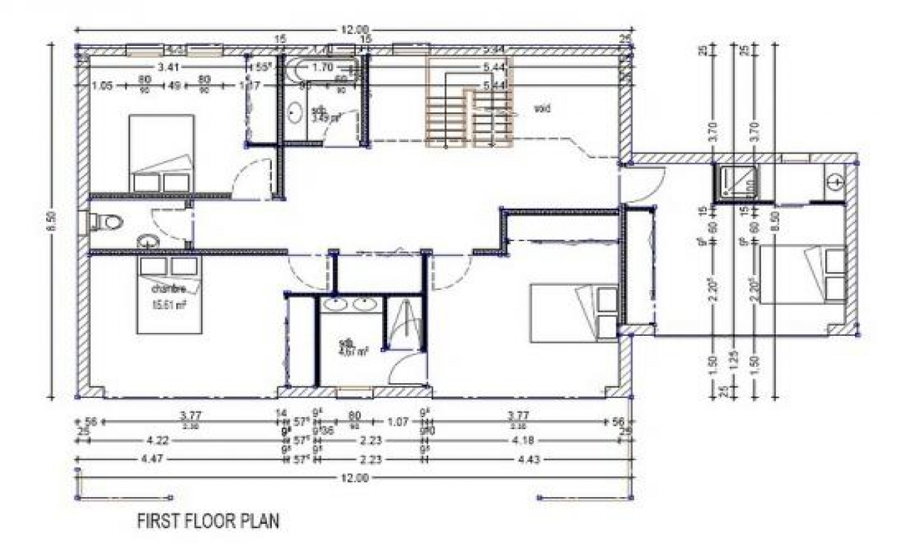Modern 4 bedroom house plans modern villa plans modern for 4 bedroom villa designs