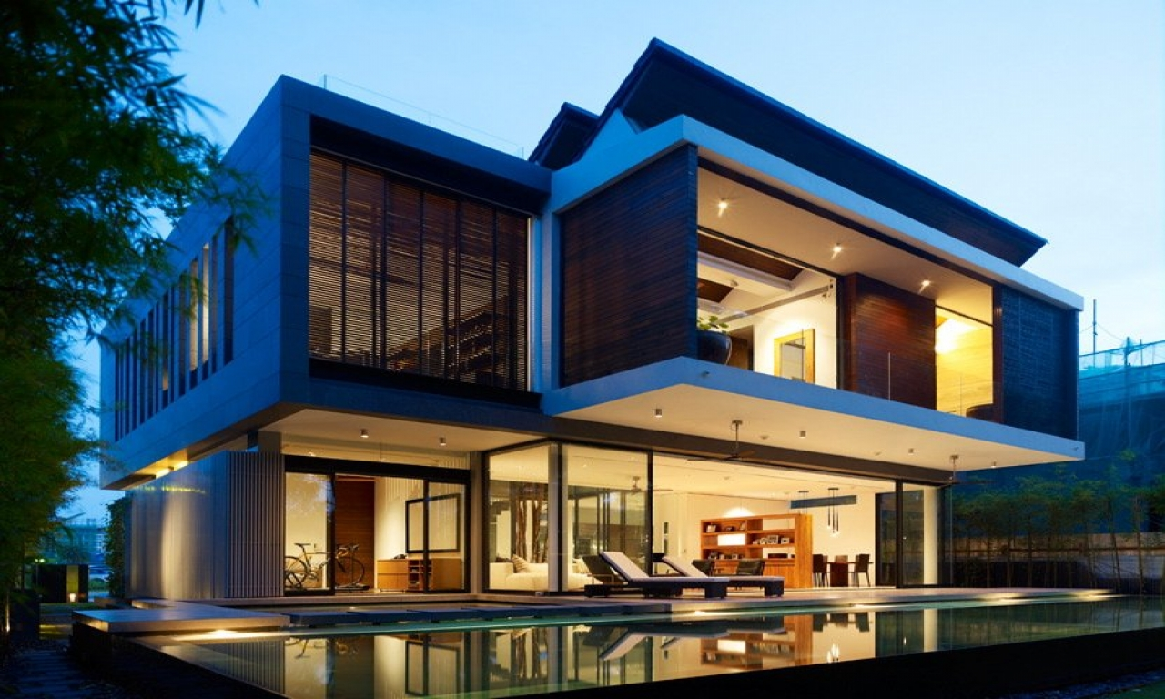 Modern Japanese House Singapore Modern House Design West