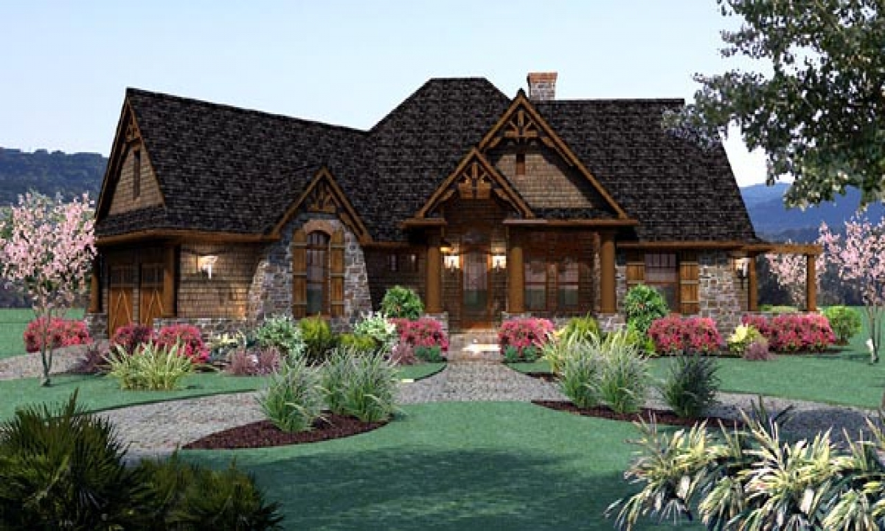 Cottage farm houses cottage style ranch house plans split for Farm cottage house plans