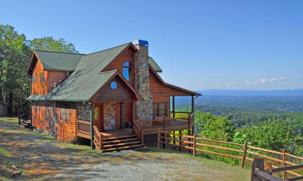 Mountain Top Cabin Gatlinburg Mountain Cabin Lake Cabin: best mountain view cabins in gatlinburg tn