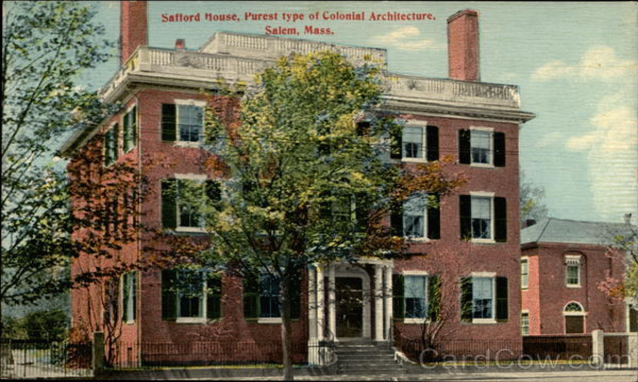 Puritans massachusetts colonial architecture types of for Types of colonial houses