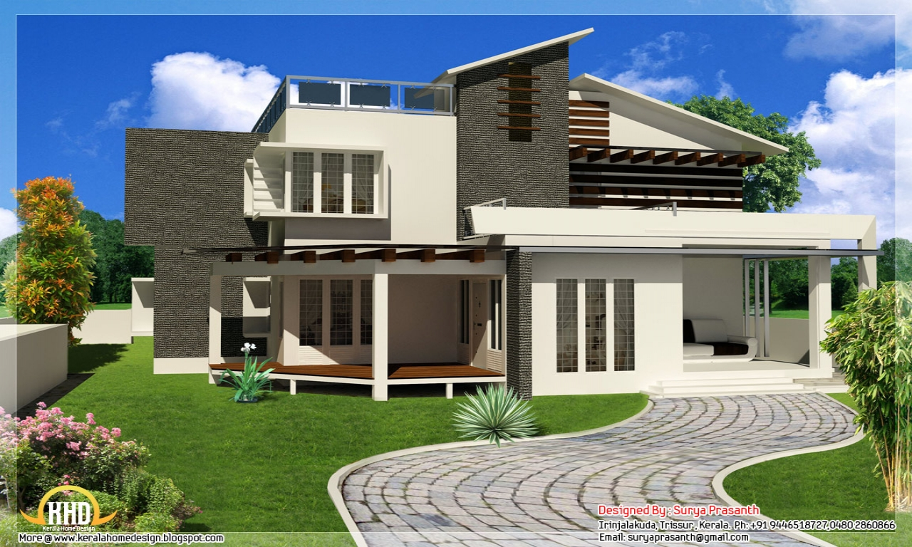 New contemporary unique house plans modern contemporary for Unique modern house designs