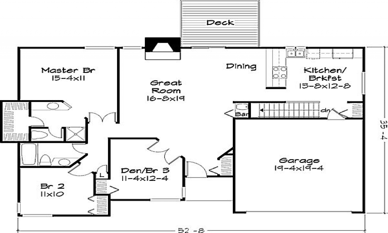 1800 sq ft house plans farmhouse style house plan baths House plans under 1400 sq ft