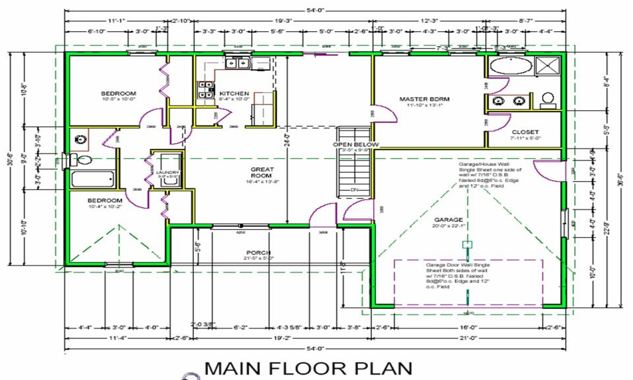 Design own house free plans free house plan designs for Design your own house blueprints
