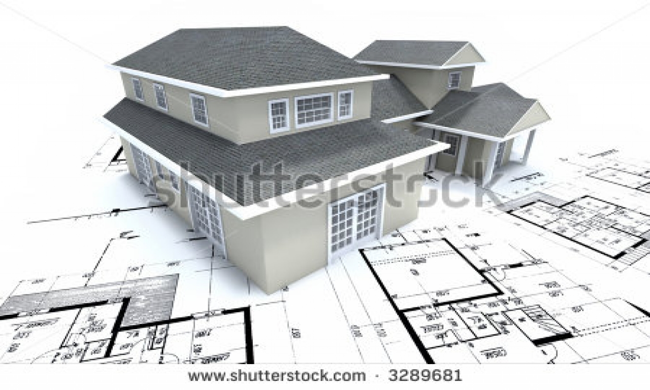 Single family house plans residential house plans for Residential blueprints