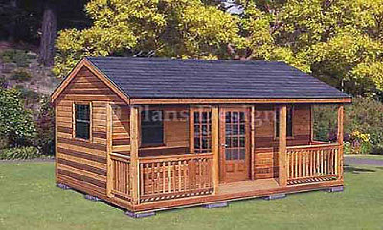 Small guest house shed cabin guest house plans cabin for Houses with guest house