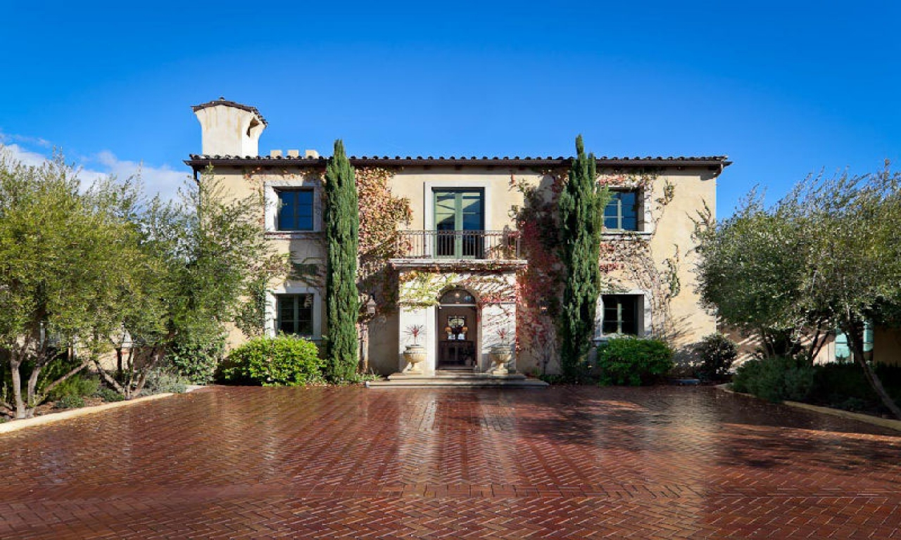 Tuscan Style Villa Plans California Tuscan Style Homes