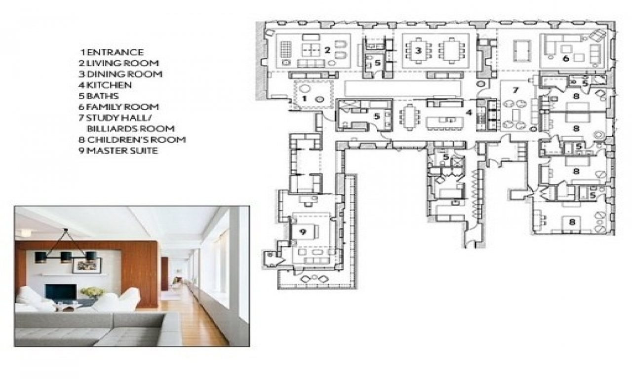 Architectural Digest Floor Plans 3d House Floor Plans