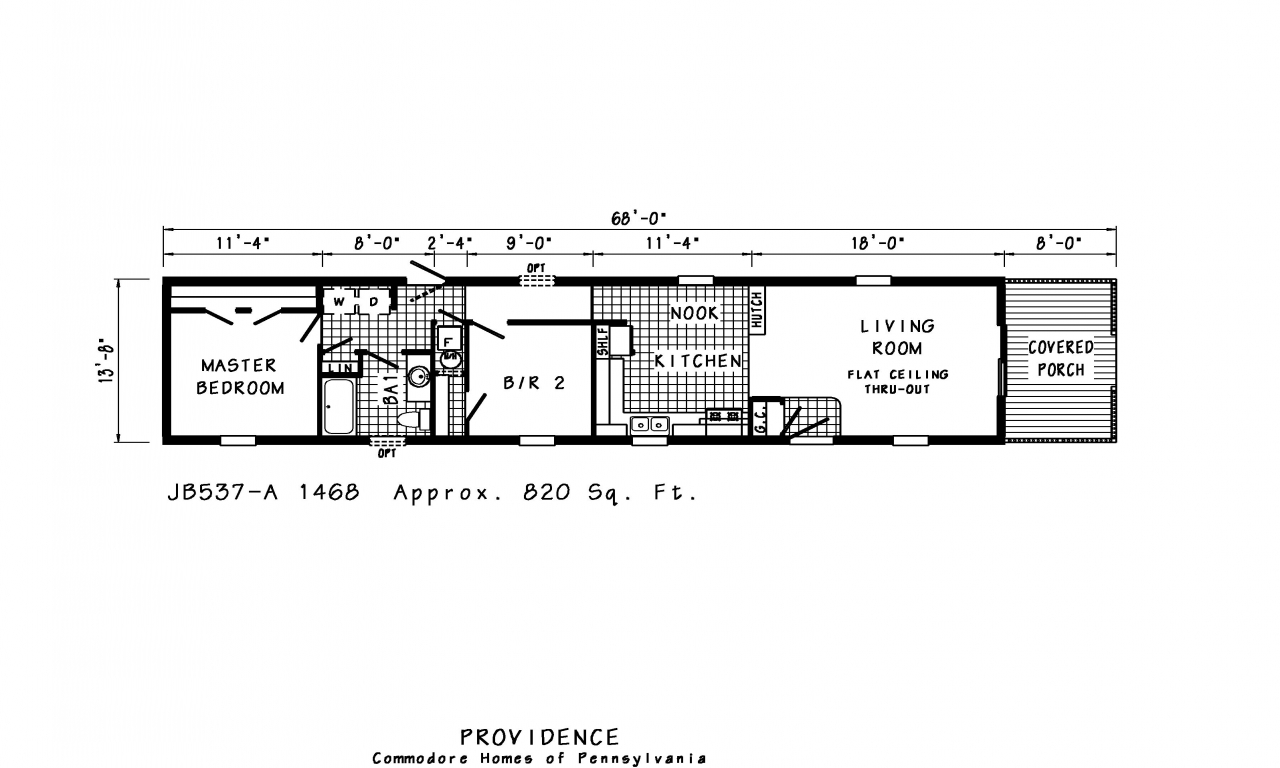 Wide Single Mobile Home Floor Plans X on
