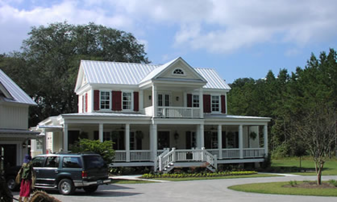 Small southern plantation house plans southern plantation for Plantation home designs