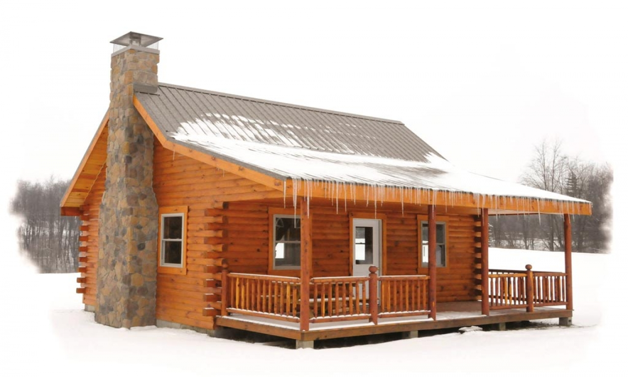 Pioneer supreme log cabin floor plans pioneer supreme for Log cabin lodge plans